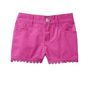 3/$25 NWT GYMBOREE Floral Trim Shorts Girls 2T